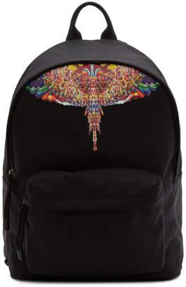 Marcelo Burlon County of Milan Black Multicolor Wings Backpack