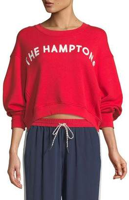 "Joie Caleigh ""The Hamptons"" Crewneck Sweatshirt"