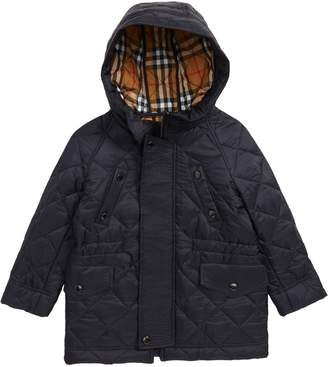 Burberry Tyler Quilted Hooded Jacket