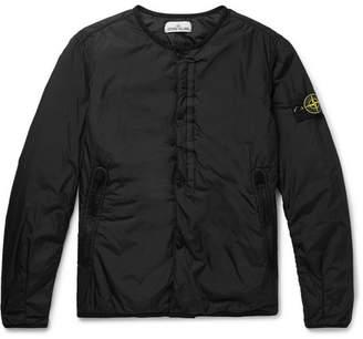 Stone Island Garment-Dyed Nylon Bomber Jacket