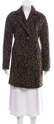 Basler Wool Blend Animal Print Jacket