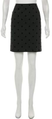 Akris Punto Polka Dot Mini Skirt