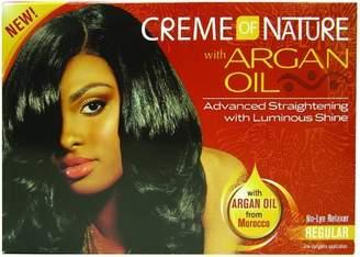 Crème of Nature Argan Oil Relaxer Regular (Pack 12)
