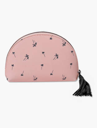 Lucky Brand Medium Printed Cosmetic Pouch
