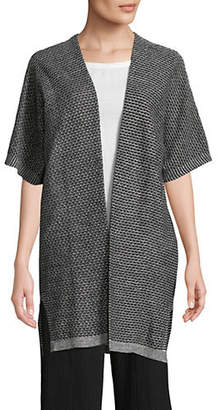 Eileen Fisher Linen Knit Kimono Cardigan