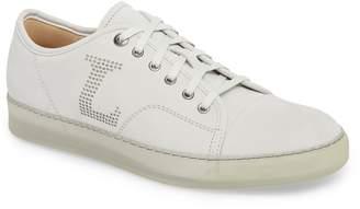 Lanvin Perforated Low Top Sneaker