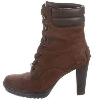 Tod's Leather Ankle Boots brown Leather Ankle Boots