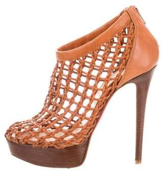 Christian Louboutin Coussin Cage Booties