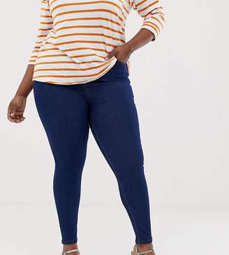 535e4ab2b34 New Look Plus Curve basic skinny denim jegging in blue