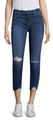 J BRAND Distressed Skinny Jeans