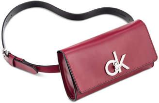 Calvin Klein Smooth Leather Belt Bag