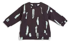 Miles Child Boys' Brushstroke Print Long Sleeve Tee - Little Kid