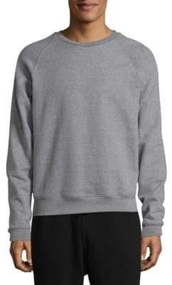 John Elliott Raglan Crew Cotton Sweater