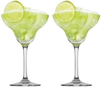Noritake Set of 2 Tasting Hour Margarita Glasses