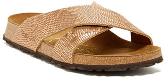 Papillio By Birkenstock Daytona Slide Embossed Sandal - Narrow Width - Discontinued $120 thestylecure.com