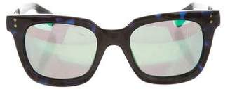 Marc Jacobs Mirrored Lens Sunglasses