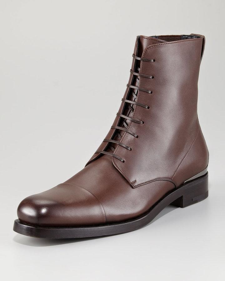 Salvatore Ferragamo Altor Lace-Up Boot