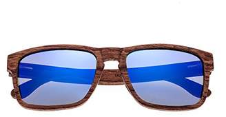 Earth Wood Whitehaven Polarized Wayfarer Sunglasses