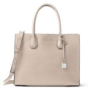 MICHAEL Michael Kors Mercer Leather Satchel