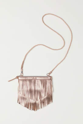 H&M Shoulder Bag with Fringe - Orange
