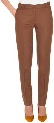 Akris Melvin Stretch Wool Flannel Pants