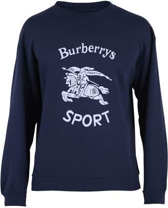 Burberry Blue Printed Sweatshirt