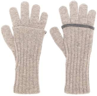 Fabiana Filippi bead embellished gloves