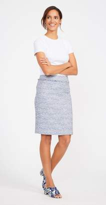 J.Mclaughlin Nanette Tweed Pencil Skirt