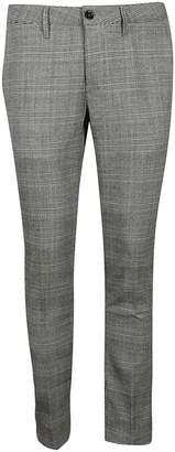 Cruna Plaid Pattern Trousers
