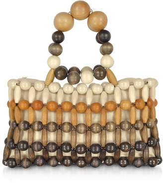 Cult Gaia Bamboo Cora Clutch Bag