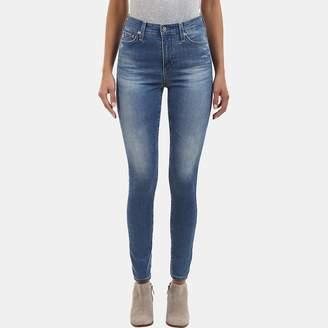 AG Jeans Mila High-Rise Skinny Jean in 13 Years Wide Awake