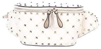 Valentino Quilted Rockstud Belt Bag