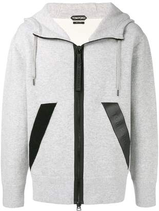 Tom Ford zipped hoodie