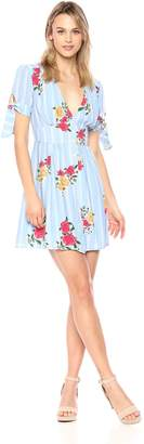 Adelyn Rae Women's IRIS Woven Printed Dress