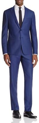 John Varvatos Star USA LUXE Tonal Birdseye Peak Slim Fit Suit $748 thestylecure.com