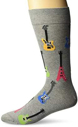 Hot Sox Men's Classic Fashion Crew Socks