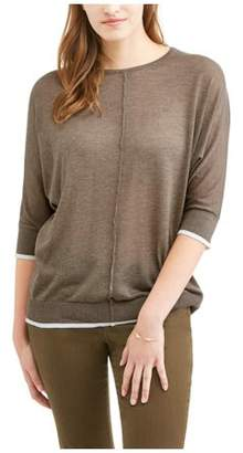 Thyme & Honey Women's Lightweight Tunic Sweater