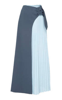 Rejina Pyo Linda Pleated Panel Skirt