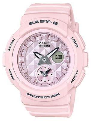 Baby-G New Baby G Women's Beach Colour Series Watch Resin Pink