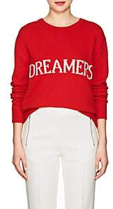 "Alberta Ferretti Women's ""Dreamers"" Wool-Cashmere Sweater - Red"