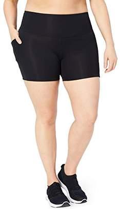 "DAY Birger et Mikkelsen Core 10 Women's Plus Size Race High Waist Run Compression Short with Pockets- 5"""