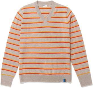Kule Sand The Camden Knit - S - Grey/Orange