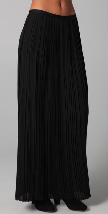 Vince Pleated Maxi Skirt