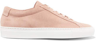 Common Projects Original Achilles Suede Sneakers - Blush