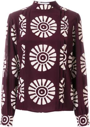 Valentino pattern print blouse