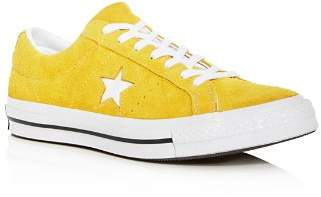 Converse Men's One Star Mineral Suede Lace Up Sneakers