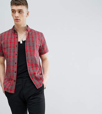 Reclaimed Vintage Inspired Shirt In Plaid Check