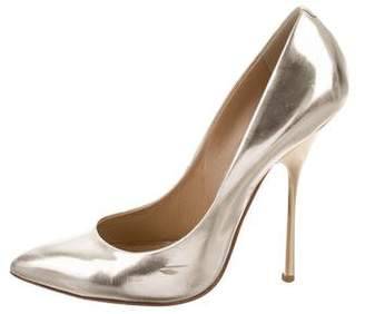 Giuseppe Zanotti Metallic Pointed-Toe Pumps