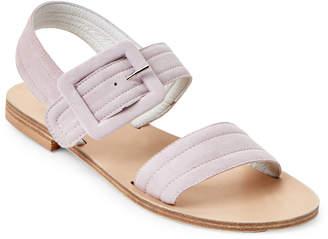 Gabriella Pink Buckled Slingback Sandals