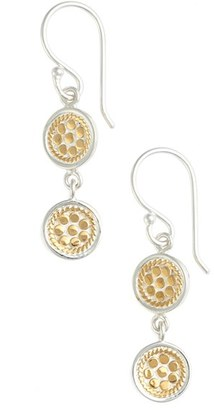 Women's Anna Beck Double Disc Drop Earrings (Nordstrom Exclusive) $150 thestylecure.com